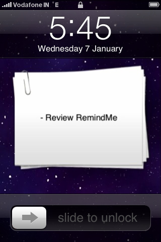 Review Remindme Paid Iphone Apps Woikr