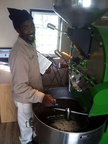 Mzukisi with a small batch of Limu