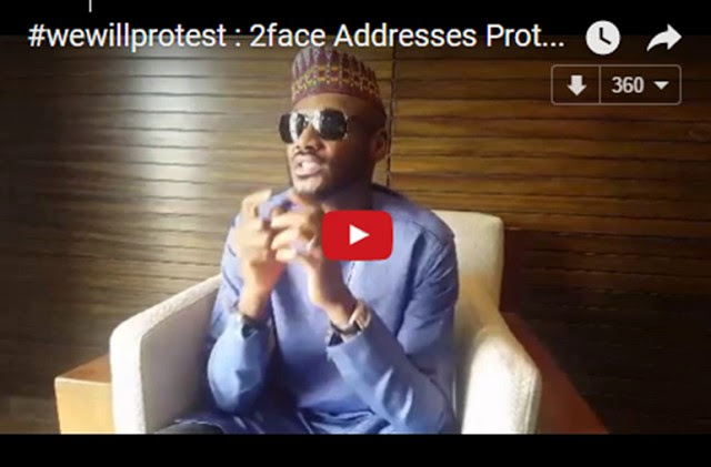 National Protest: Who Paid 2face To Destroy Himself