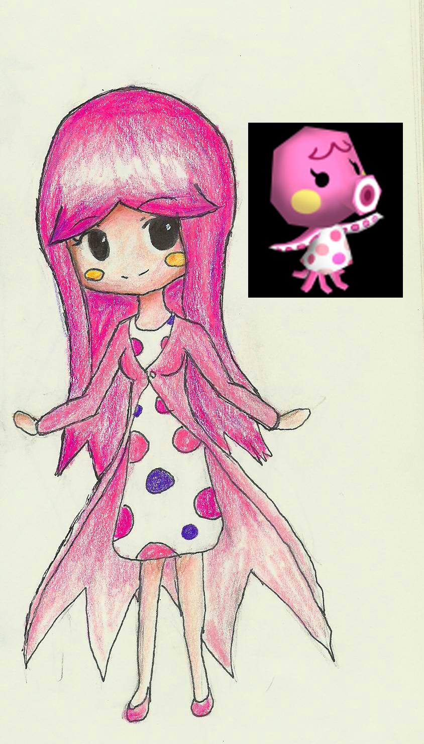 Marina ( Animal Crossing ) by XRaeineX on DeviantArt