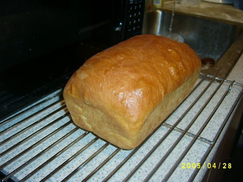 Our yummy buttery sandwich bread