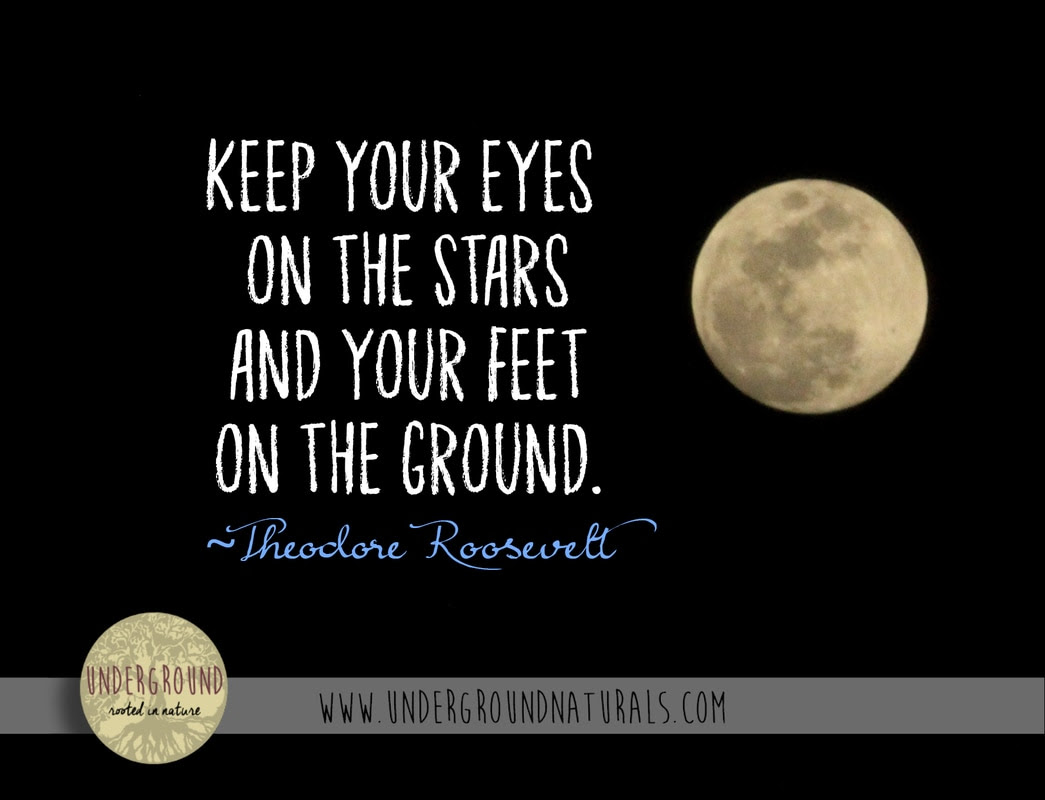 Encouraging Words From Underground Naturals Keep Looking Up