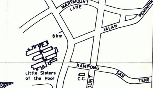 Street Directory - Kg San Teng (1981)
