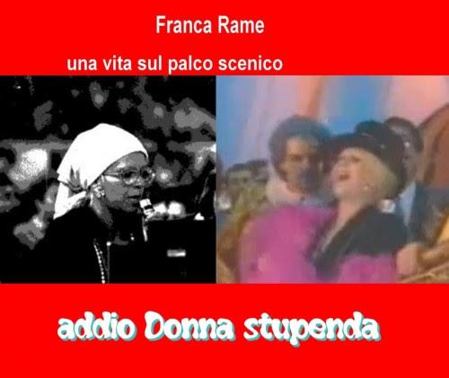 blog life,addio a Franca Runa giornata ame,