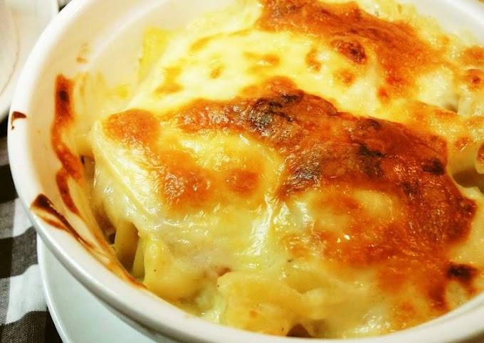 Recipe of Homemade Gooey, Cheesy Macaroni au Gratin