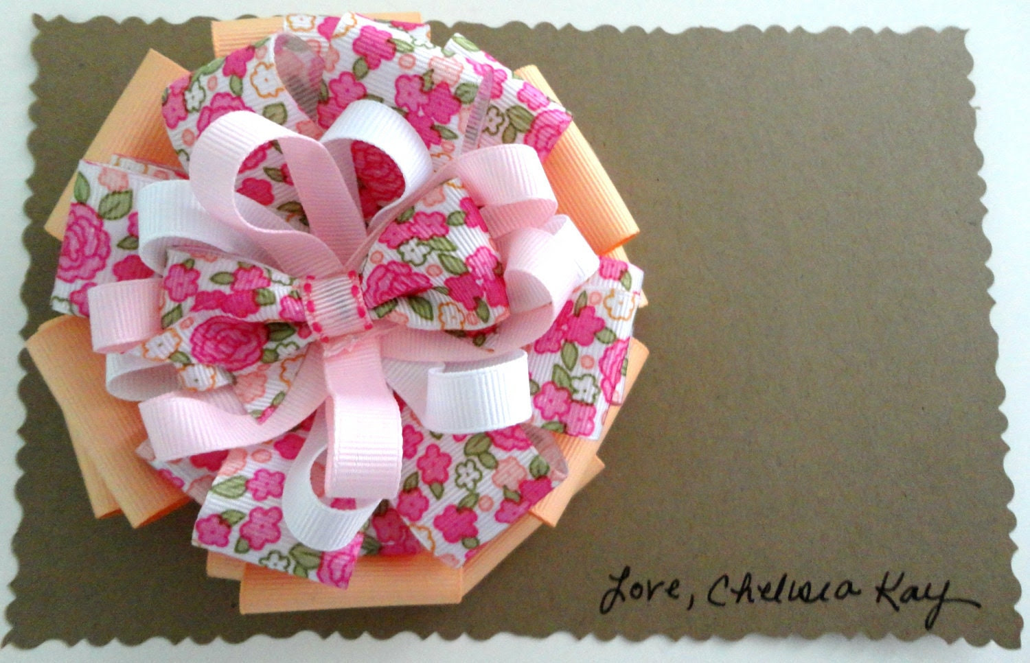 The Madeline- Large Boutique Hair Bow