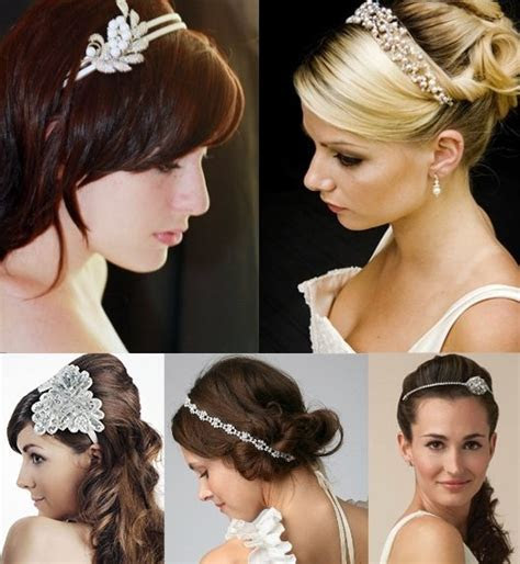 Bridal Hair Bands for your Wedding Hairstyle