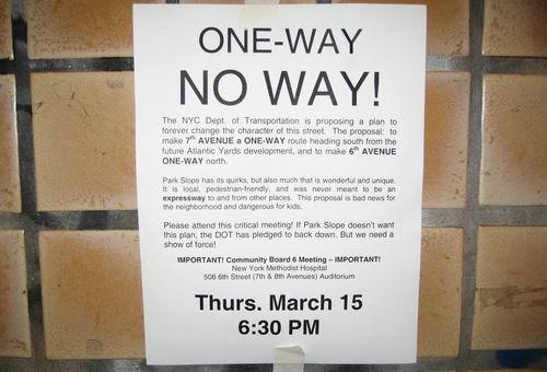 One Way No Way Flyer