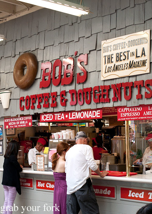 bobs coffee and doughnuts at la farmers market los angeles
