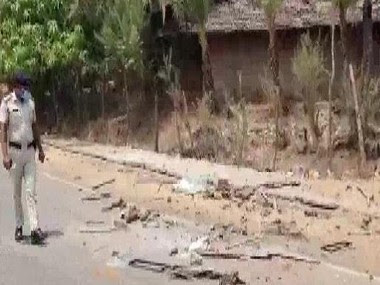 Two sadhus and a driver were killed by a mob in Palghar on 16 April. ANI