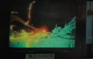 tv screen labeled bozovision
