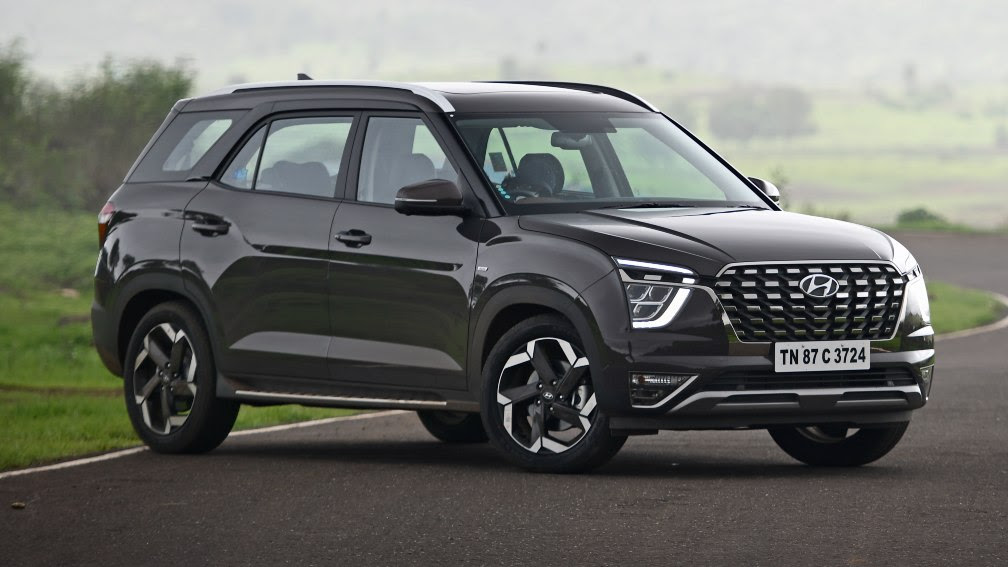 The Hyundai Alcazar is the latest in a line of three-row SUVs launched in India. Image: Hyundai