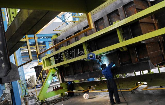 Pertumbuhan Industri Ditargetkan 7,1% di 2012