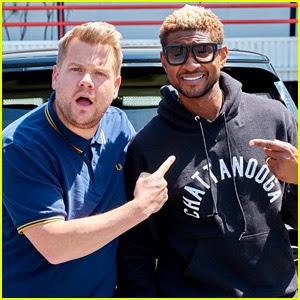 Usher Joins James Corden for 'Carpool Karaoke' - Watch Now!