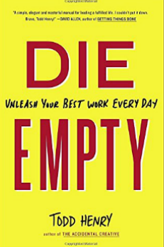 die empty book review