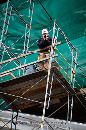 Edgartown News, Sara Piazza Photography, Edgartown Photographer, Martha's Vineyard Photographer, Martha's Vineyard Family and Wedding Photographer, town clock tower reconstruction, Old Whaling Church, Edgartown, raising of the steeple