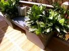 Building a Deck Bench with Planters : How-To : DIY Network