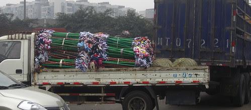 a truckload of mops, Chengdu