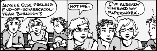 Home Spun comic strip #810