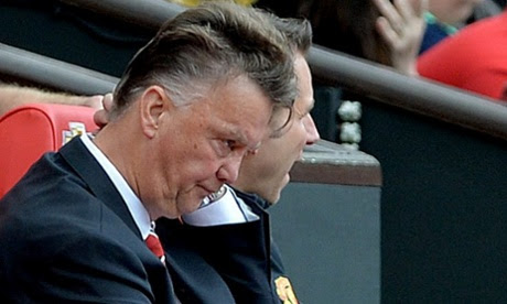 Louis van Gaal disappoint after Manchester United lost Swansea