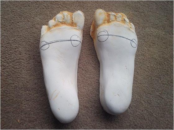 feet molds