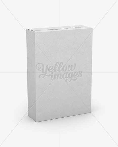 Download Download Cereal Box Mockup - 25° Angle Front View (High ...