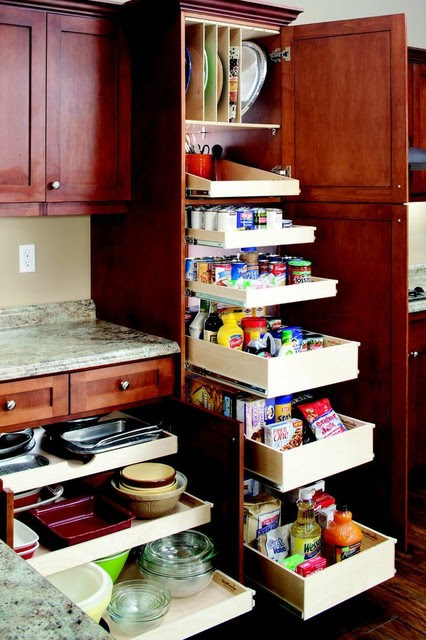 Pull Out Kitchen and Pantry Shelves - new york - by ...