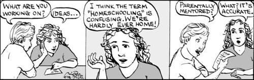 Home Spun comic strip #257