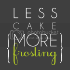 Less Cake{More Frosting}