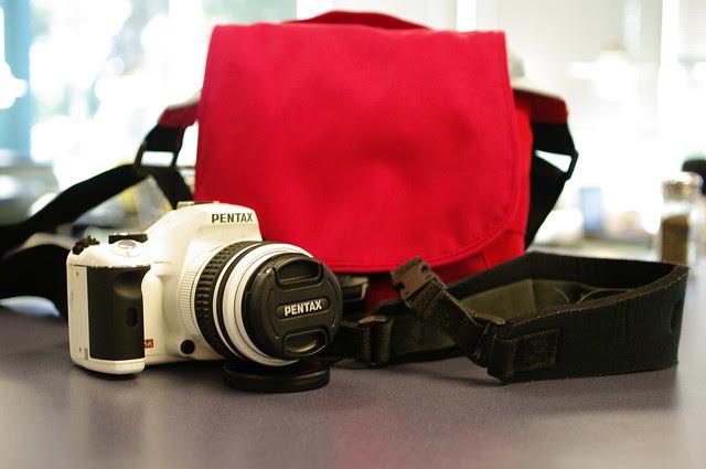 goodbye to Pentax K-x White