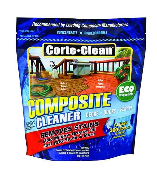 CORTE CLEAN POSITE DECK DOCK FENCE CLEANER mold mildew grease oil