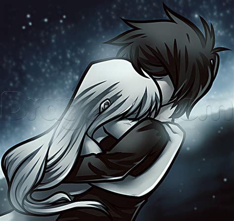 draw  anime hug step  step anime people