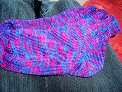 purpley socks