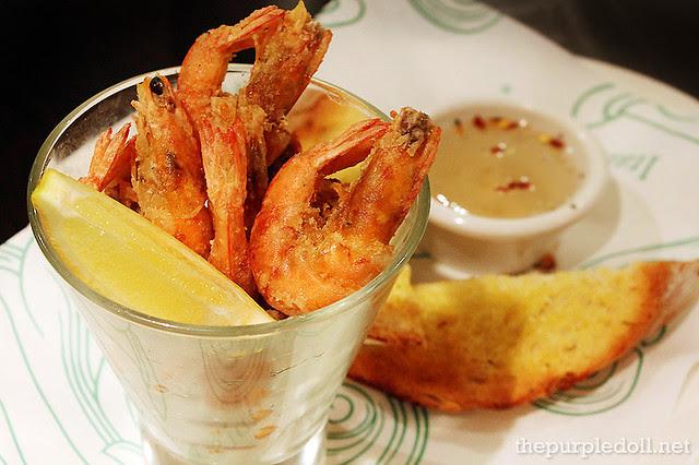 Crisp-Fried Shrimps Pescatore P275