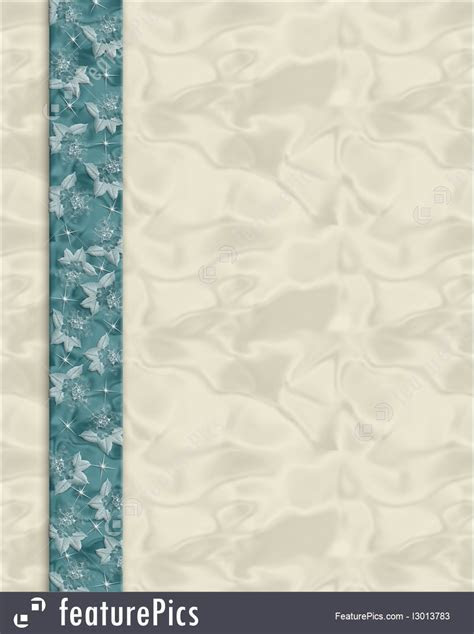 Illustration Of Invitation Template Teal And Cream