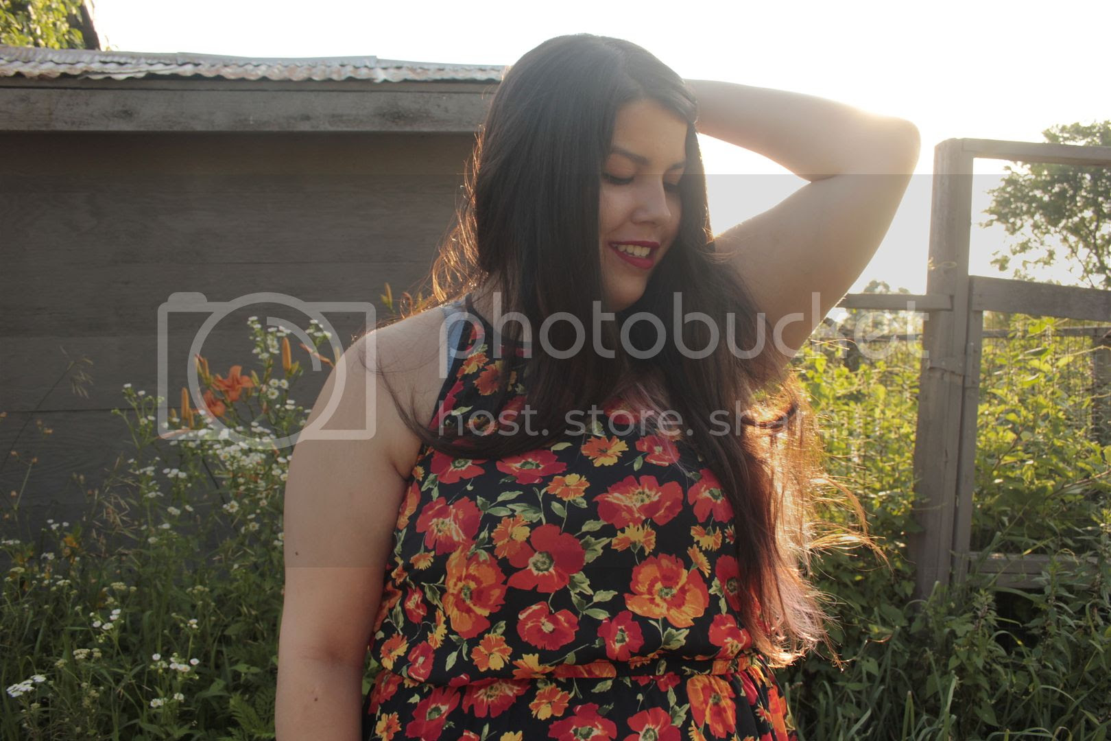 plus size fashion clothes and chi jessica ip blogger toronto canada forever 21 plus plus size floral maxi dress