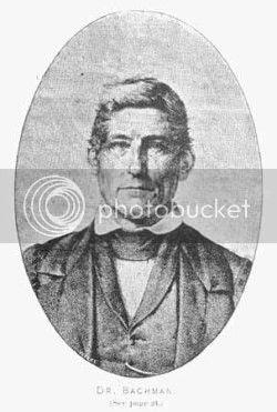 husband of Maria Martin Bachman