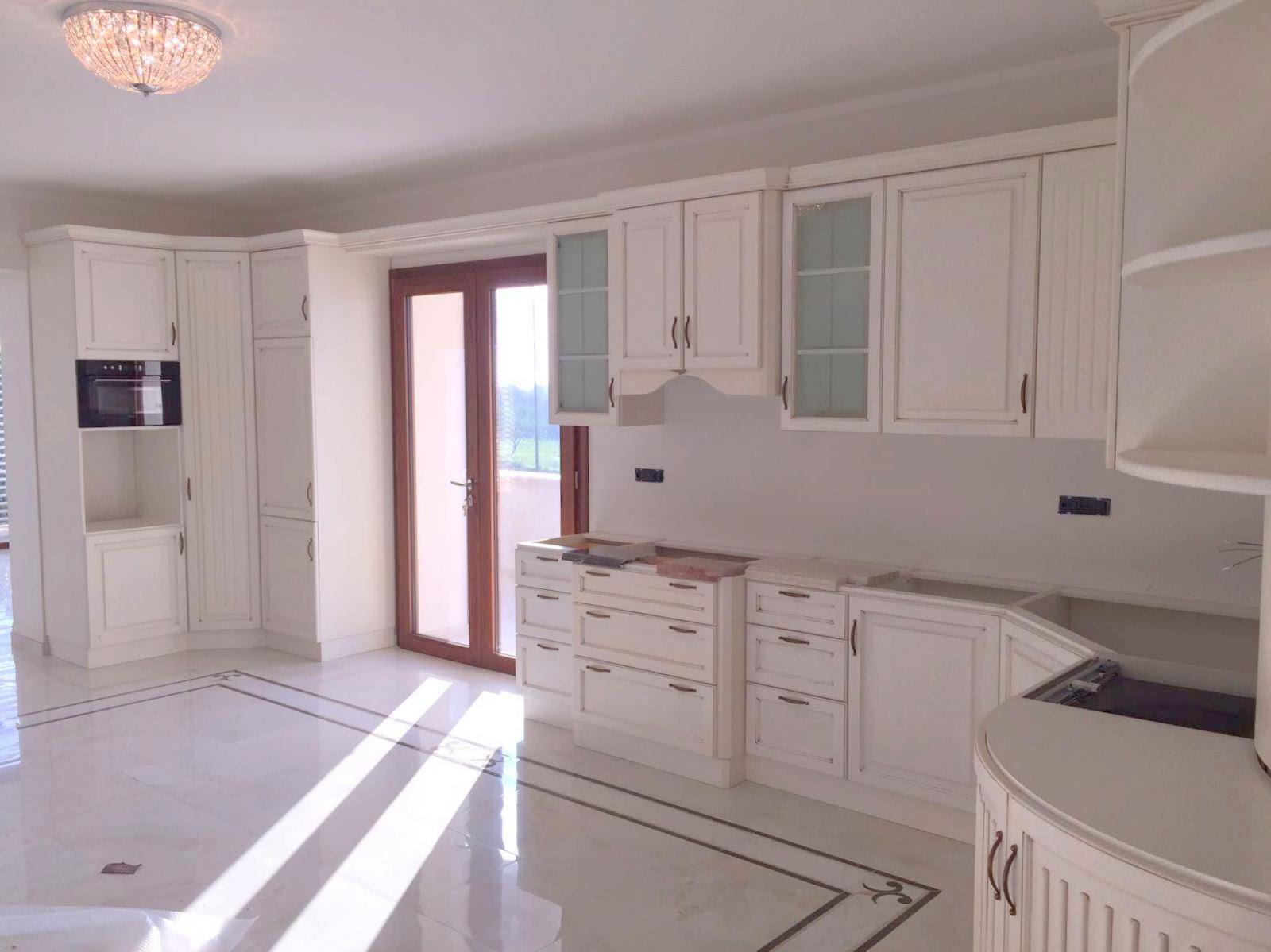 Arredo cucina classica bianca Milano