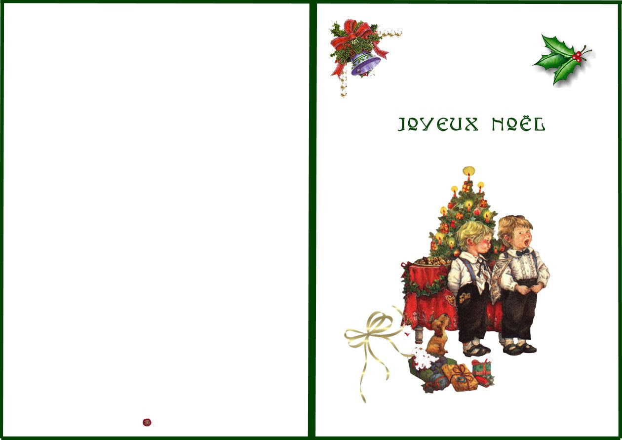 Carte A Imprimer Noel An Page 4