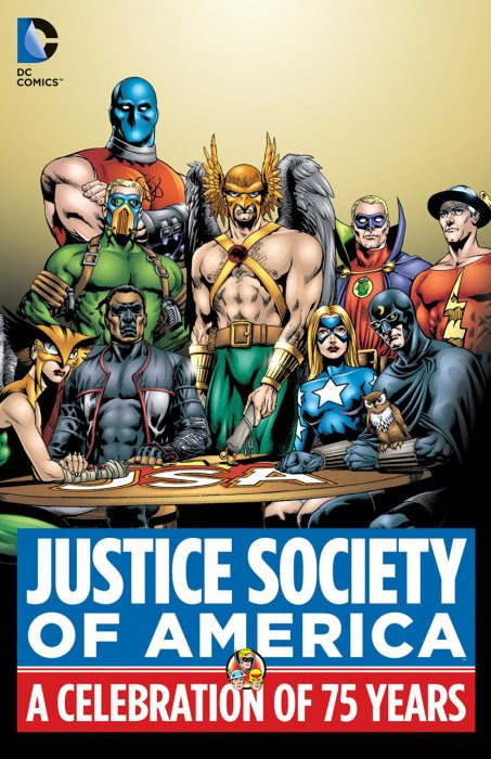 Justice Society of America - A Celebration of 75 Years #1 - HC