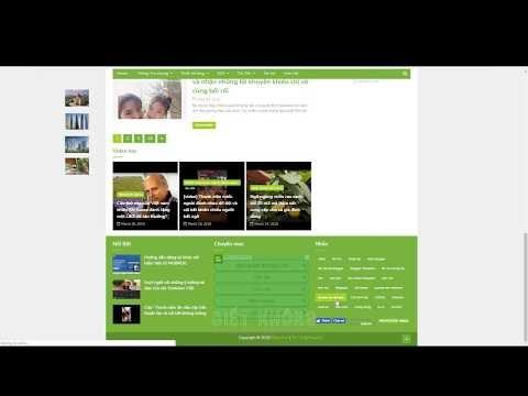 Video hướng dẫn cách tạo nhanh một đơn vị quảng cáo kiểu liên kết