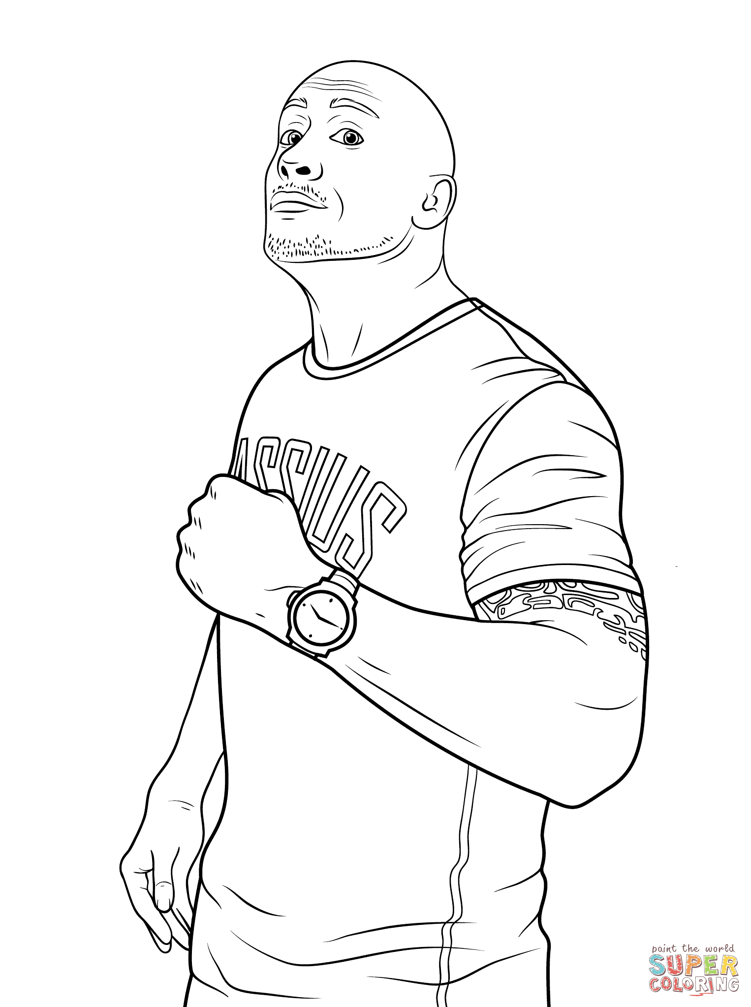 46 Top Wwe Coloring Pages Pdf  Images