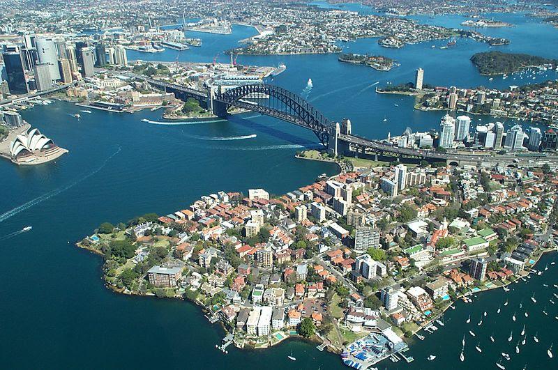 File:Sydney Harbour Bridge from the air.JPG