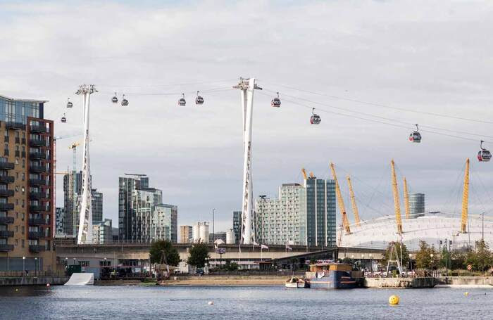 London's Royal Docks to become cultural quarter, creating thousands of jobs