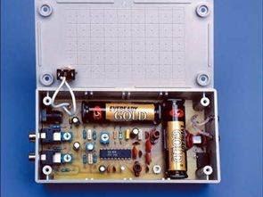 Máy phát FM Stereo công suất thấp 3 Volt với BA1404