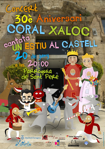 cartel Coral Xaloc