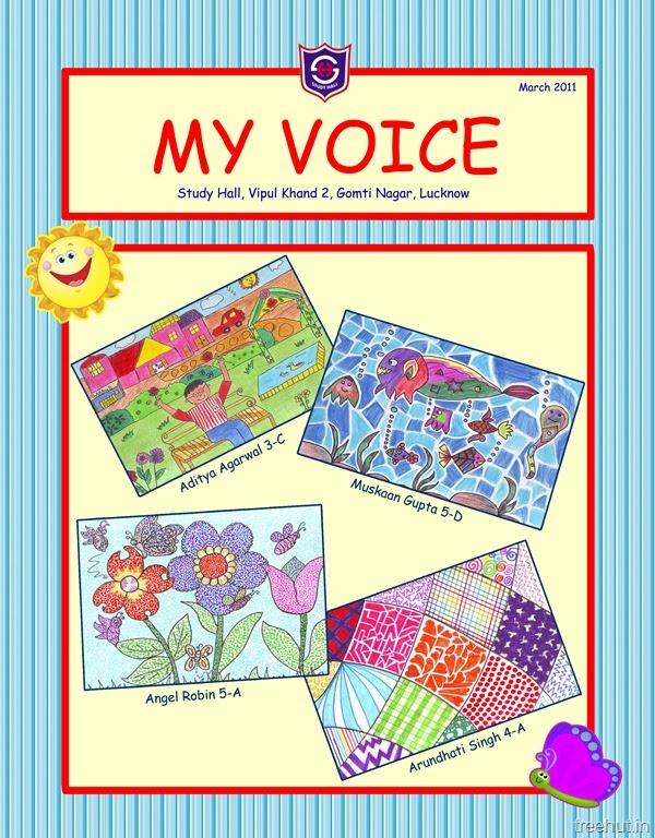 Childrens Magazine Cover Design