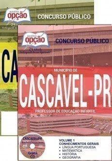 Apostila Prefeitura de Cascavel PDF.