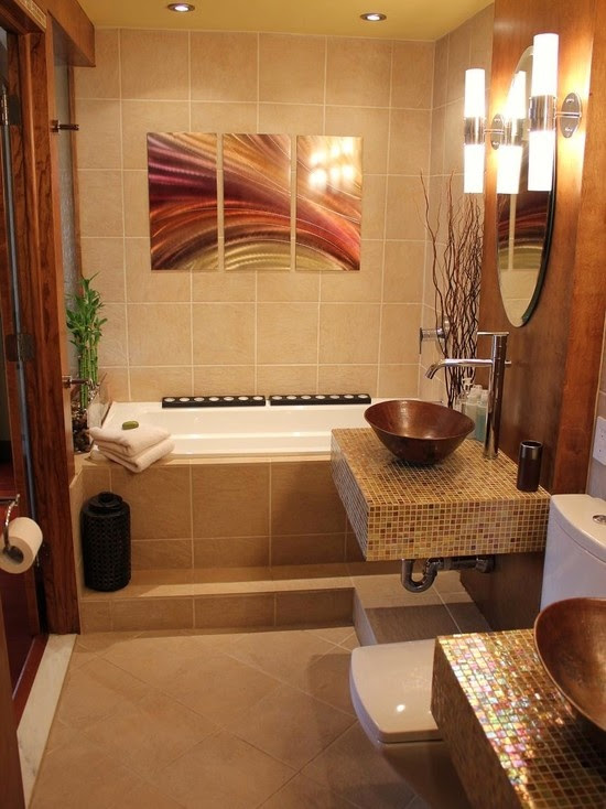 25 Asian Bathroom Design Ideas - Decoration Love