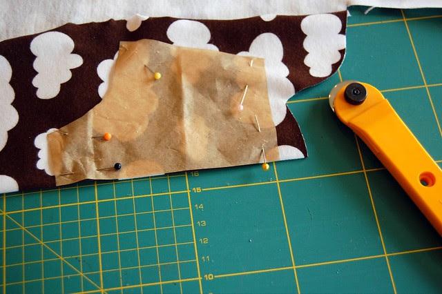 cutting on the fold